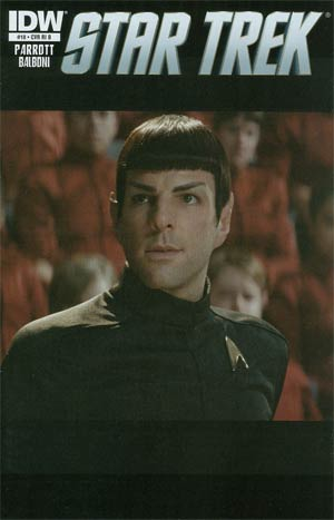 Star Trek (IDW) #18 Incentive Photo Variant Cover