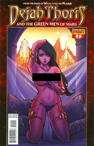 Dejah Thoris And The Green Men Of Mars #1 Incentive Ale Garza Risque Art Variant Cover