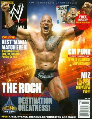 WWE Magazine #86 Mar 2013