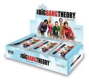 Big Bang Theory Season 3 & 4 Trading Cards Pack