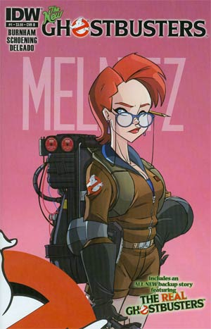 New Ghostbusters #1 1st Ptg Regular Cover B Janine Melnitz