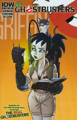 New Ghostbusters #1 1st Ptg Regular Cover C  Kylie Griffin