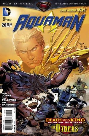 Aquaman Vol 5 #20 Regular Paul Pelletier Cover