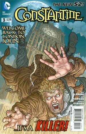 Constantine #3 Regular Juan Jose Ryp Cover
