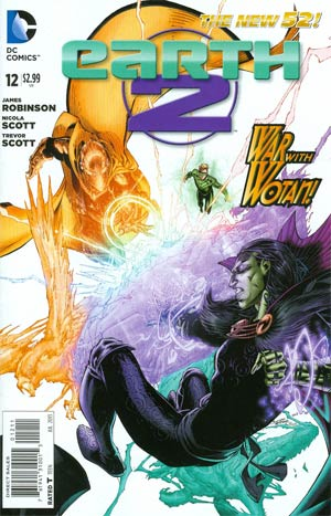 Earth 2 #12 Regular Brett Booth Cover