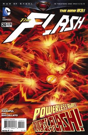 Flash Vol 4 #20 Regular Francis Manapul Cover