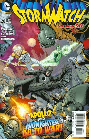 Stormwatch Vol 3 #20