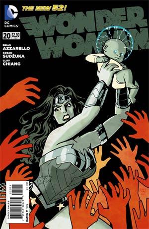 Wonder Woman Vol 4 #20 Regular Cliff Chiang Cover