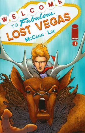 Lost Vegas #3 Regular Cover A Janet Lee