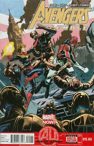 Avengers Assemble #15AU (Age Of Ultron Tie-In)