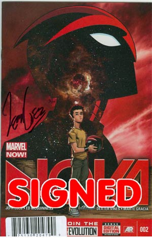 Nova Vol 5 #2 Cover D DF Signed By Jeph Loeb