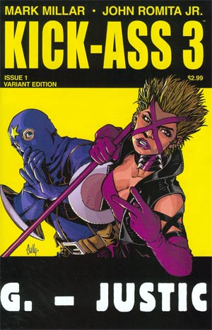 Kick-Ass 3 #1 Cover D 1st Ptg Variant Cully Hamner Cover