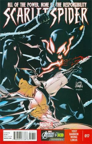 Scarlet Spider Vol 2 #17 Regular Ryan Stegman Cover