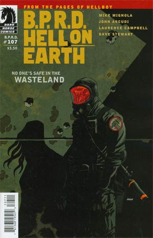 BPRD Hell On Earth #107 Wasteland Part 1