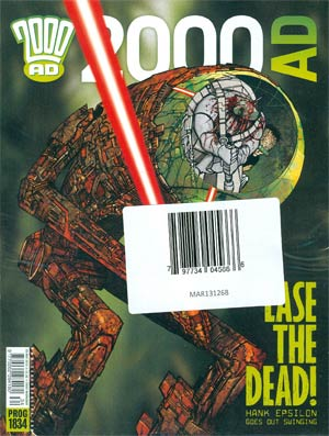 2000 AD #1830 - 1834 Pack May 2013