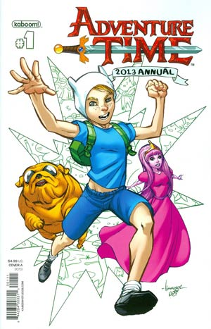 Adventure Time Annual #1 Regular Ale Garza Cover