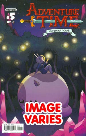 Adventure Time Fionna & Cake #5 Regular Cover (Filled Randomly With 1 Of 2 Covers)