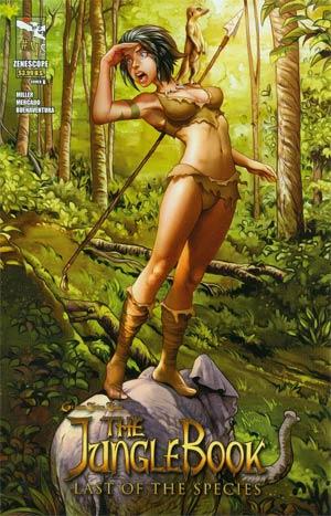 Grimm Fairy Tales Presents Jungle Book Last Of The Species #4 Cover B Ivan Nunes