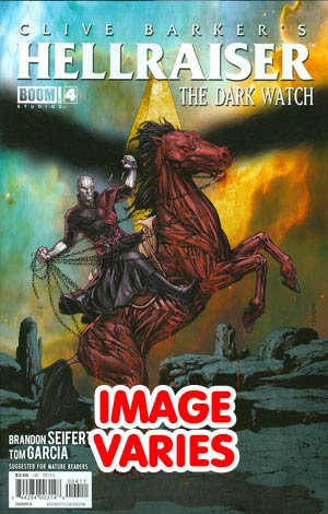 Clive Barkers Hellraiser Dark Watch #4 Regular Cover (Filled Randomly With 1 Of 2 Covers)