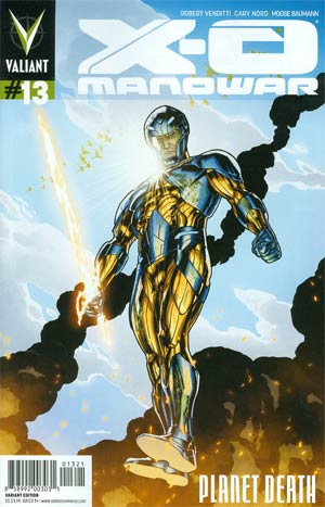 X-O Manowar Vol 3 #13 Cover B Variant Ryan Sook Cover