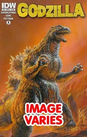 DO NOT USE (DUP) Godzilla Vol 2 #13 (Filled Randomly With 1 Of 2 Covers)
