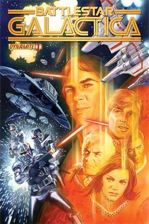 Battlestar Galactica Vol 5 #1 Regular Alex Ross Cover