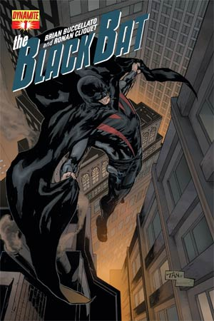 Black Bat #1 Regular Cover D Billy Tan