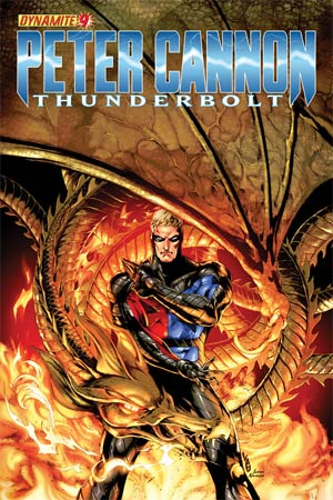 Peter Cannon Thunderbolt Vol 2 #9 Cover B Jonathan Lau