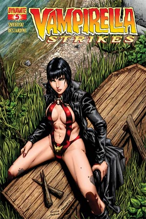 Vampirella Strikes Vol 2 #5 Regular Cover A Johnny Desjardins