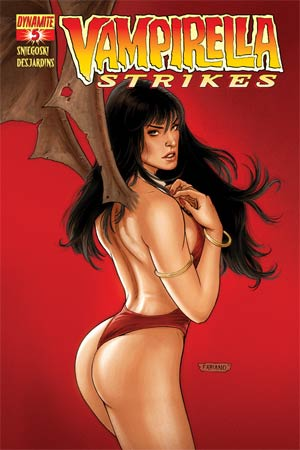 Vampirella Strikes Vol 2 #5 Regular Cover B Fabiano Neves