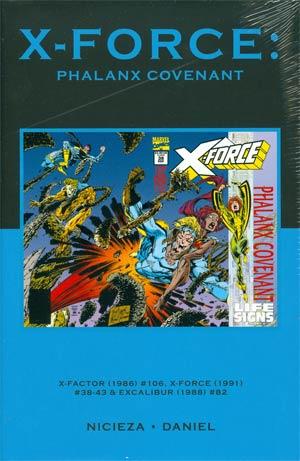 X-Force Phalanx Covenant HC Premiere Edition Direct Market Cover
