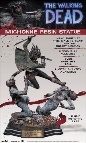 Walking Dead Michonne Resin Statue