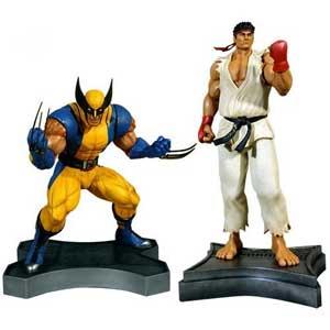 Wolverine vs Ryu 1/3 Scale Statue Set