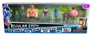 Regular Show Mini-Figure 6-Pack Assortment Case