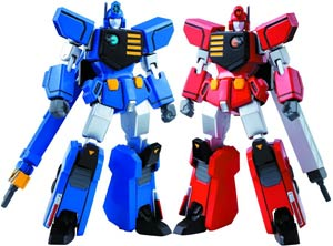 Super Robot Chogokin - The King Of Braves GaoGaiGar - HyoRyu EnRyu And Big Order Room Die-Cast Action Figures