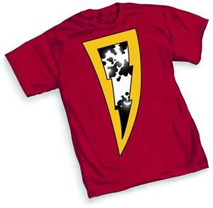SHAZAM 52 Symbol T-Shirt Large