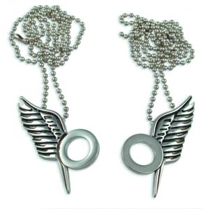 Battlestar Galactica Kara & Sams Forever Necklace Set