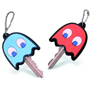 Pac-Man Ghost Key Covers 4-Pack