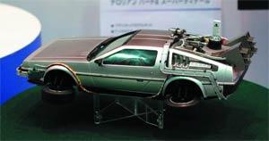Back To The Future Part II DeLorean 1/24 Scale Model Kit