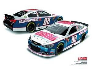 NASCAR 1/24 Scale Die-Cast - Dale Earnhardt Jrs National Guard Chevrolet SS
