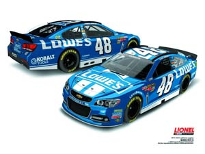 NASCAR 1/24 Scale Die-Cast - Jimmie Johnsons Lowes Chevrolet SS