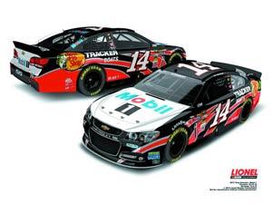 NASCAR 1/24 Scale Die-Cast - Tony Stewarts Mobil 1 Chevrolet SS