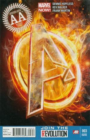 Avengers Arena #3 2nd Ptg Kev Walker Variant Cover