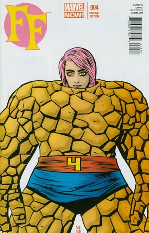 FF Vol 2 #4 Cover B Incentive Mike Allred Variant Cover