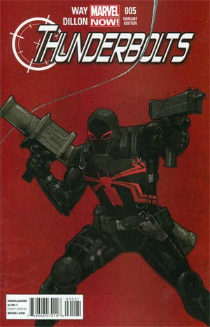Thunderbolts Vol 2 #5 Incentive Billy Tan Variant Cover