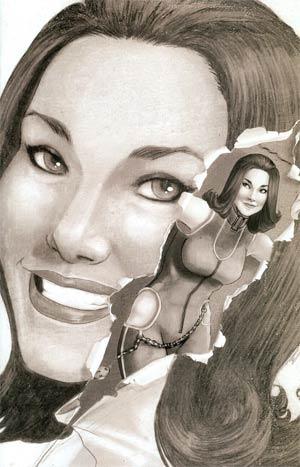Steed And Mrs Peel Vol 2 #5 Incentive Lorena Carvalho Virgin Sketch Cover