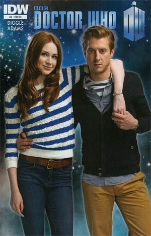Doctor Who Vol 5 #6 Cover B Incentive Photo Variant Cover