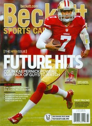 Beckett Sports Card Monthly Vol 30 #3 Mar 2013