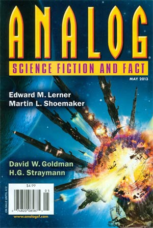 Analog Science Fiction And Fact Vol 133 #5 May 2013