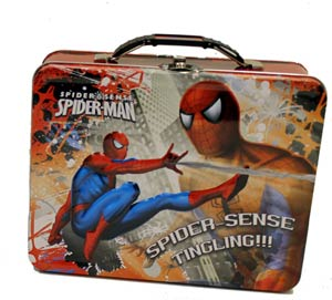 Spider-Man Embossed Large Carry All - Red